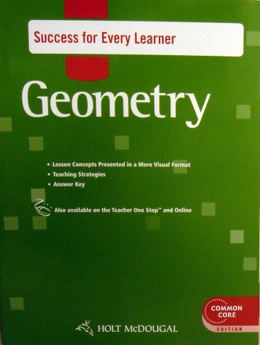 Geometry Success for Every Learner
