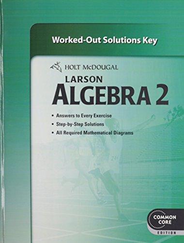 9780547710648: Holt McDougal Larson Algebra 2 Common Core
