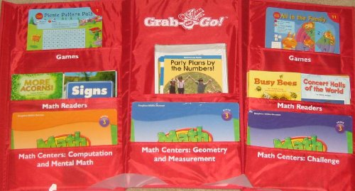 9780547713403: GO Math!: Grab and Go Differentiated Centers Kit Grade 3