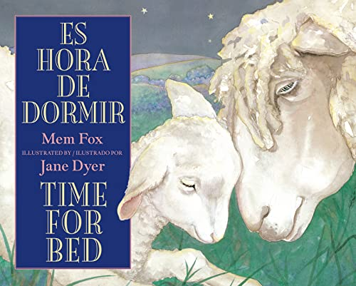 9780547719078: Es hora de dormir/Time for Bed (Spanish and English Edition)