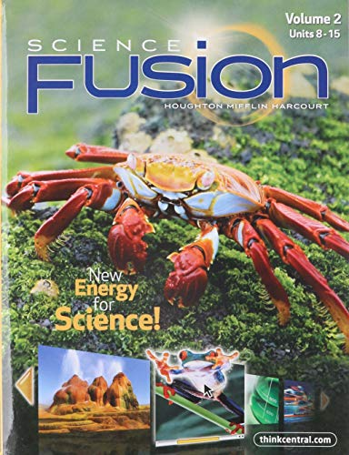 9780547719375: Science Fusion: New Energy for Science, Vol. 2, Units 8-15, Grade 5