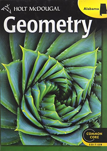 9780547734262: Holt McDougal Geometry: Student Edition 2013