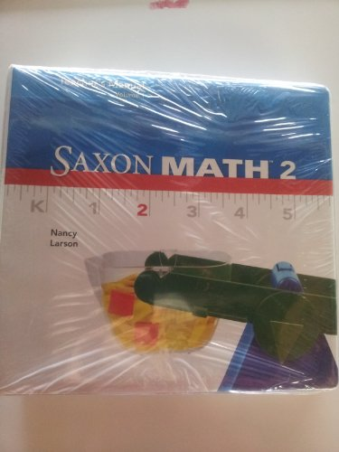 9780547741444: Saxon Math 2, Teacher's Manual, Volume 1