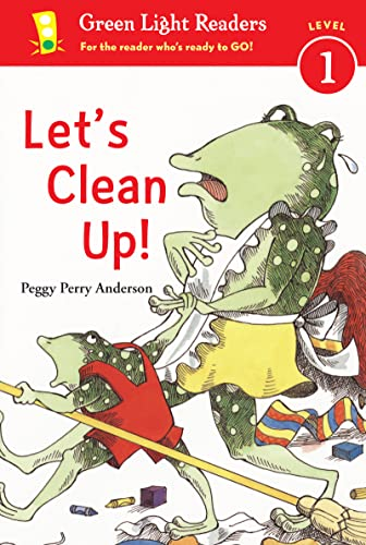 Let's Clean Up! (Green Light Readers Level 1): Anderson, Peggy Perry