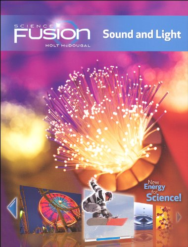 9780547746685: ScienceFusion: Homeschool Package Grades 6-8 Module J: Sound and Light