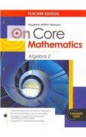 9780547747422: Holt McDougal Algebra 2: On Core Mathematics Algebra 2 Bundle Algebra 2