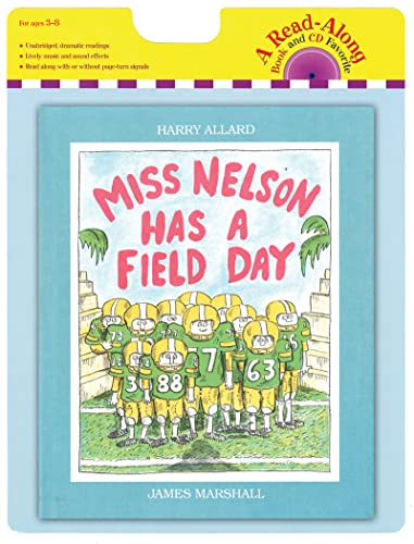 9780547753768: Miss Nelson Has a Field Day Book and CD (Read-Along Book and CD Favorite)