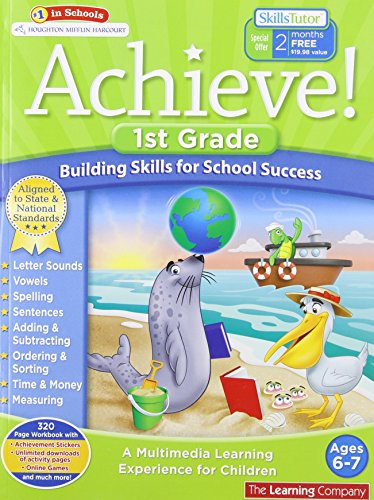 Achieve!: First Grade: Building Skills for School Success: The Learning Company