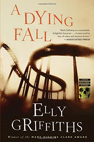 Cover of the book, A Dying Fall (Ruth Galloway, #5).