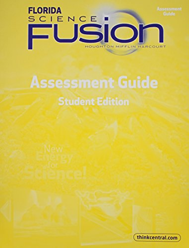 9780547801964: Florida Science Fusion: Assessment Guide, Grade 5
