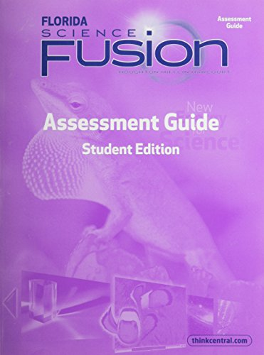 9780547802022: Houghton Mifflin Harcourt Science Fusion Florida: Assessment Books Grade 3