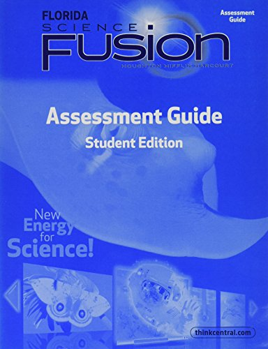 9780547802183: Florida Science Fusion: Assessment Guide, Grade 4