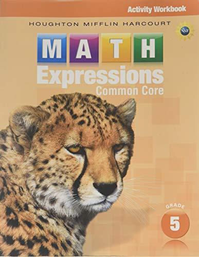9780547824178: Math Expressions: Activity Workbook Grade 5 ...