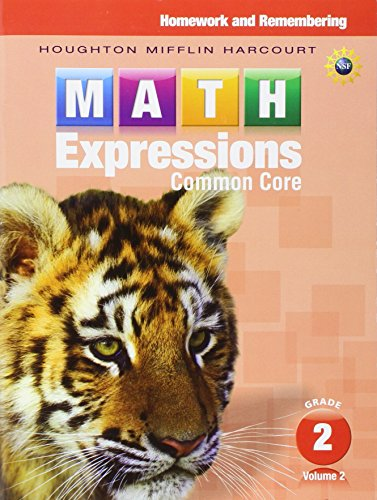 9780547824307: Math Expressions: Homework & Remembering, Volume 2 Grade 2