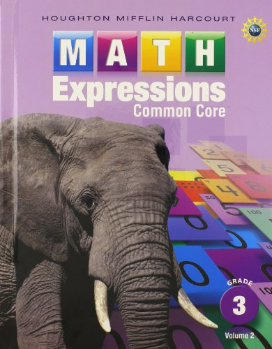 Math Expressions: Student Activity Book, Volume 2 (Hardcover) Grade 3: HARCOURT, HOUGHTON MIFFLIN