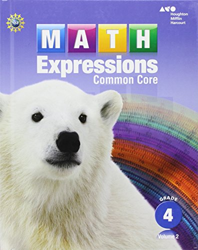 math expressions student activity book volume    math expressions student activity book volume   hardcover grade