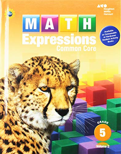 9780547824420: Math Expressions: Student Activity Book, Volume 2 (Hardcover) Grade 5