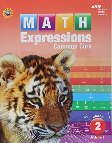 9780547824451: Math Expressions: Student Activity Book, Volume 1 (Softcover) Grade 2