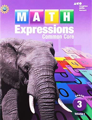 9780547824468: Math Expressions Student Activity Book: Grade 3, Vol. 1