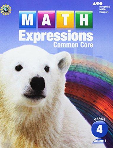 9780547824475: Math Expressions: Student Activity Book, Vol. 1, Grade 4