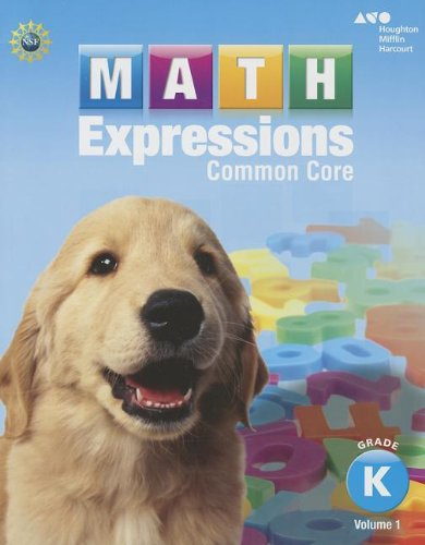 9780547824505: Math Expressions: Student Activity Book, Volume 1 (Softcover) Grade K