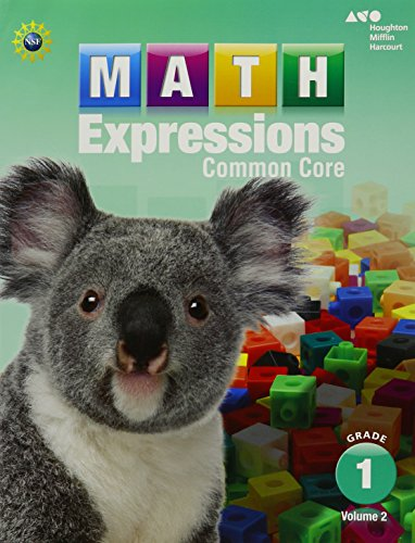 9780547824512: Math Expressions: Student Activity Book, Volume 2 (Softcover) Grade 1