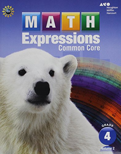 9780547824543: Math Expressions: Student Activity Book, Grade 4, Vol. 2