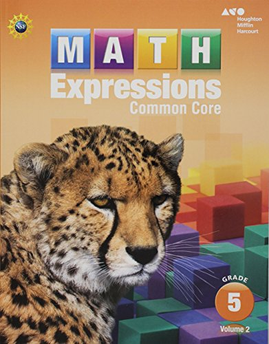 9780547824550: Math Expressions: Student Activity Book, Volume 2 (Softcover) Grade 5