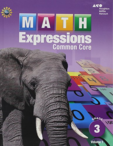 9780547824680: Math Expressions: Student Activity Book Collection (Hardcover) Grade 3