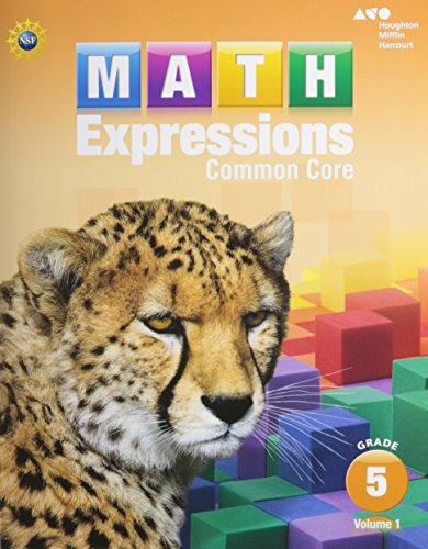 9780547824765: Houghton Mifflin Harcourt Math Expressions: Student Activity Book Collection (Softcover) Grade 5