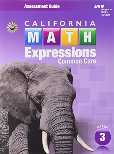 Math Expressions: Assessment G