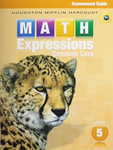 9780547825526: Math Expressions Grade 5: Teacher Assessment Guide