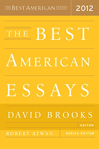 9780547840093: The Best American Essays 2012