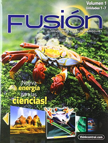 9780547850061: ScienceFusion Spanish: Student Edition Interactive Worktext Collection Grade 5 2012 (Spanish Edition)