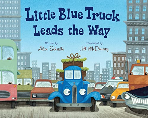 9780547850603: Little Blue Truck Leads the Way Big Book