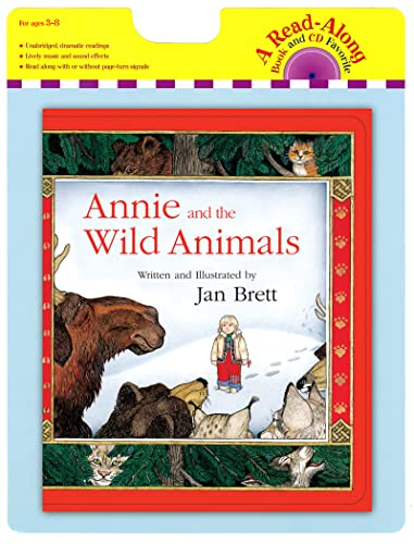 9780547850825: Annie and the Wild Animals [With Paperback Book] (Read-Along Book and CD Favorite)