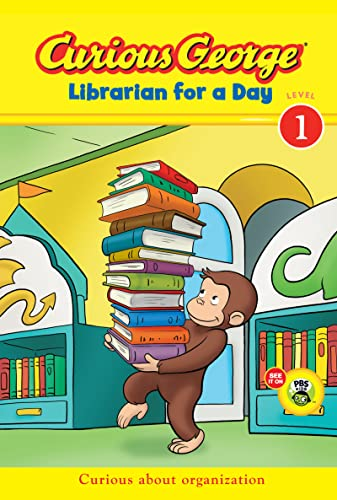 Curious George Librarian for a Day (CGTV: H. A. Rey,