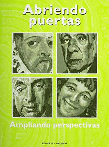 9780547858630: Abriendo Puertas: Ampliando Perspectivas- Student Worktext (Abriendo puertas: ampliando pespectivas) (Spanish Edition)