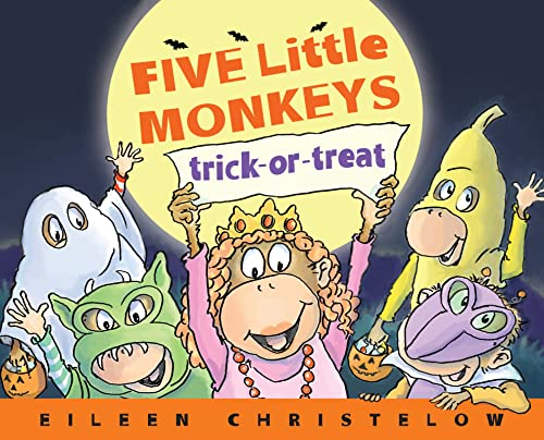 9780547858937: Five Little Monkeys Trick-or-Treat