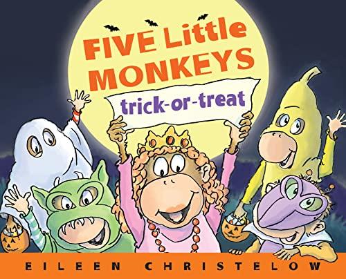 9780547858937: Five Little Monkeys Trick-or-Treat (A Five Little Monkeys Story)