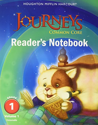 9780547860602: Journeys: Common Core Reader's Notebook Consumable Volume 1 Grade 1