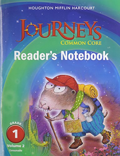 9780547860619: Journeys: Common Core Reader's Notebook Consumable Volume 2 Grade 1