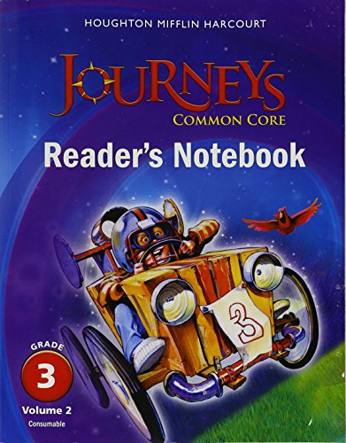 Journeys Common Core Readers Notebook Consumable Volume 2 border=