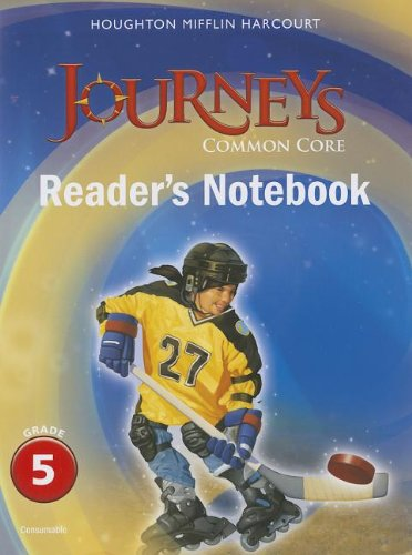 9780547860688: Journeys: Common Core Reader's Notebook Consumable Grade 5