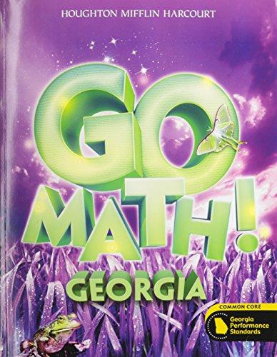 9780547863023: Houghton Mifflin Harcourt Go Math! Georgia: Student Edition Grade 3 2014
