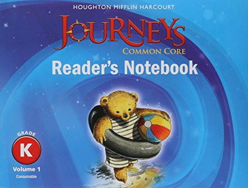 9780547863320: Journeys: Common Core Reader's Notebook Consumable Collection Grade K (Houghton Mifflin Harcourt Journeys)