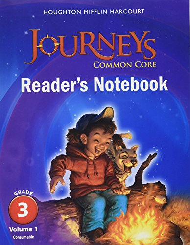 9780547863603: Journeys: Common Core Reader's Notebook Consumable Collection Grade 3