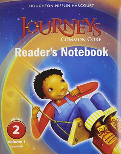 9780547863702: Houghton Mifflin Harcourt Journeys: Common Core Reader's Notebook Consumable Collection, Grade 2
