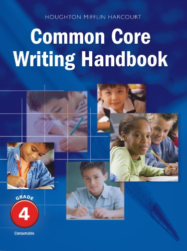 Journeys: Common Core Writing Handbook Student Edition Grade 4 (0547864523) by HOUGHTON MIFFLIN HARCOURT