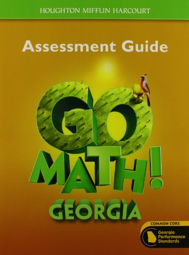 9780547865096: Houghton Mifflin Harcourt Go Math! Georgia: Assessment Guide Grade 5